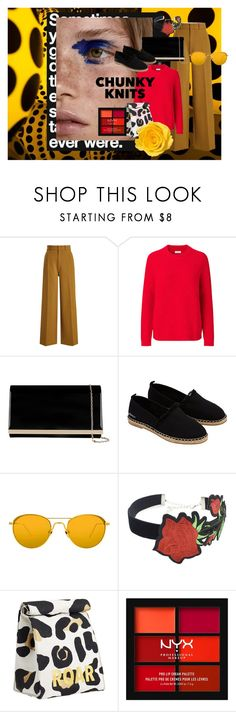 """""""Get Cozy: Chunky Knits"""" by betsabe13 ❤ liked on Polyvore featuring Joseph, Accessorize, Linda Farrow, WithChic, PBteen, NYX and chunkyknits"""