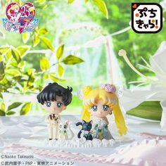 Mamoru and Usagi wedding petit chara set