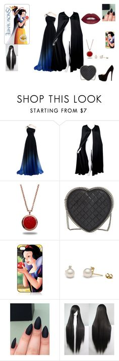 """""""Evil Queen"""" by skittlzs ❤ liked on Polyvore featuring Valentino, Marlin Birna, Christian Louboutin, STELLA McCARTNEY, women's clothing, women's fashion, women, female, woman and misses"""