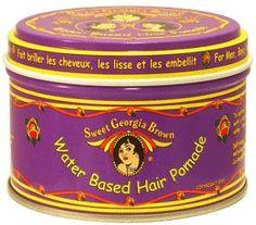 "Sweet Georgia Brown Water Based Hair Pomade (""Purple""): Got it! Mens Pomade, Hair Pomade, Vintage Hairstyles, Cool Hairstyles, Pomade Shop, Georgia, Oldies But Goodies, Professional Hairstyles, Men's Grooming"