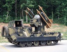 Pictures of the M730 Chaparral - Mobile Surface-to-Air Missile System (SAM).