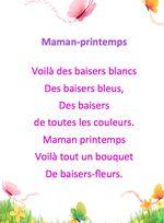 Comptines Fête des mères