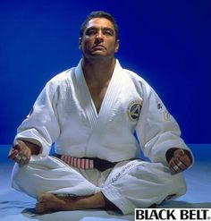 Rickson Gracie.  He held a seminar in my town.  So sad to have missed it! #BJJ