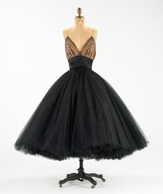 Norman Norell c. 1955 #dress #vintage #1950s