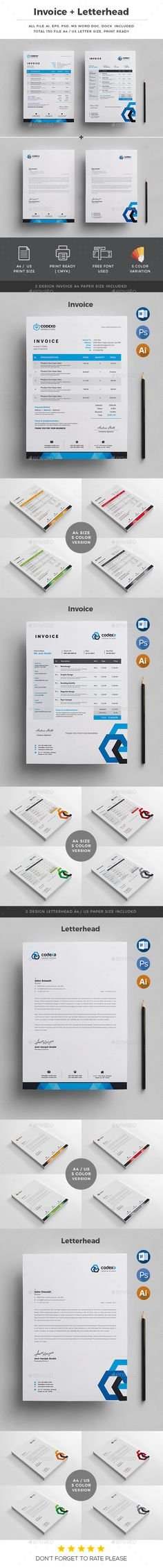Invoice Best Stationery printing and Print templates ideas - invoice print