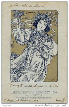 1909 alphonse mucha