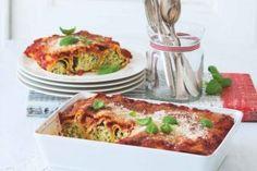 Cannelloni s ricottou a cuketou Ricotta, Quiche, Meat, Chicken, Breakfast, Food, Lush, Lasagna, Morning Coffee