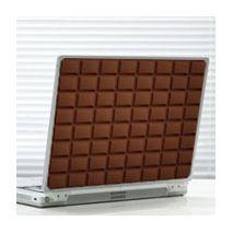 Sticker chocolat noir