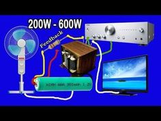 How to make inverter 12V to 220V-240V 500W (part2) -Specific instructions 12v to 220v inverter using TL494 or AZ 7500 from the old computer power supplies.fr...