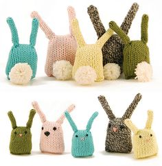 @Rebecca Danger's Bunny Nuggets are a great way to use leftover yarn. And the more you make, the cuter they are.