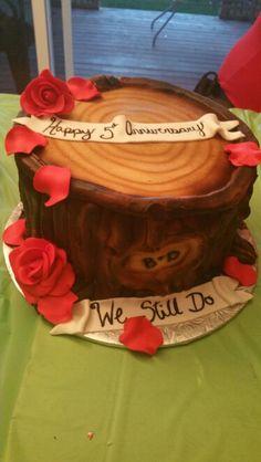 5th wood anniversary