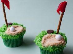 Putting Green Cupcakes