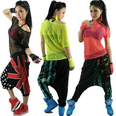 Hip hop fashion for dancers