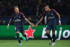 Cavani and Neymar celebrated together the goals of Paris Saint Germain.        Paris Saint-Germain gave a football lesson to Bayern Munich, ...