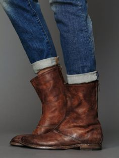 Free People HTC Myth Back Zip Boot, $735.00