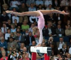 Gymnastics. Nastia Liukin - perfection