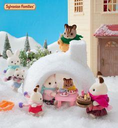 Prendre le goûter dans un igloo ? Le rêve de tous les enfants.