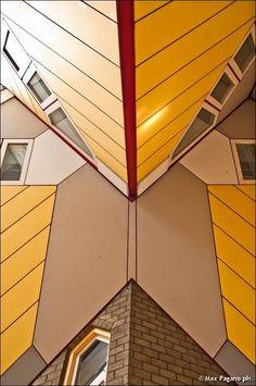 Cube Houses, Rotterdam by Max Pagano, via 500px