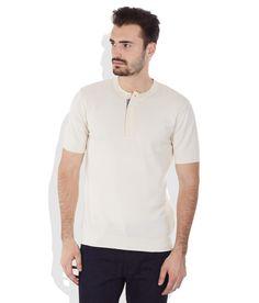 Wills Lifestyle Beige Cotton Henley T-Shirt