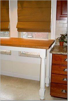 DIY Butcher Block table/counter