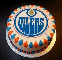 edmonton oilers themed cupcakes by coco cake land for a on birthday cake edmonton south