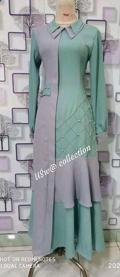 Kurta Designs, Simple Kurti Designs, Stylish Dress Designs, Stylish Dresses, Fashion Dresses, Women's Fashion, Abaya Mode, Mode Hijab, Dress Brokat Muslim