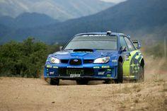 Subaru Impreza WRC rally car
