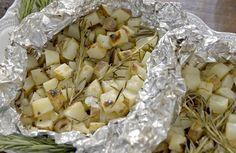 Get Buttery Herbed Potatoes Recipe from Food Network (italian appetizers giada) Giada De Laurentiis, Giada Recipes, Cooking Recipes, Giada Cooking, Italian Cooking, Party Recipes, Recipes Dinner, Summer Recipes, Asian Recipes