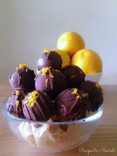 Chocolate+Orange+Truffles+::+Gluten,+Grain,+&+Nut-Free,+Paleo+//+deliciousobsessions.com