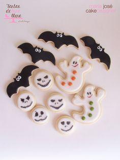 Galletas decoradas / decorated cookies Halloween 2014 www.tartasdelunallena.blogspot.com maria jose cake designer