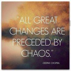 Got chaos? Give thanks.
