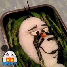 Olaf Bento Box! #Disney #Frozen