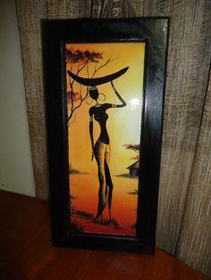 Cuadro decorativo tema africano