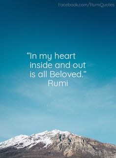 Explore inspirational, thought-provoking and powerful Rumi quotes. Here are the 100 greatest Rumi quotations on life, love, wisdom and transformation. Rumi Quotes Life, Rumi Love Quotes, Rumi Poem, Christian Mysticism, Jalaluddin Rumi, Poetic Words, Stupid Quotes, Bhakti Yoga, Sufi Poetry