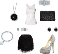 feather city. by kristenblackburn on Polyvore.