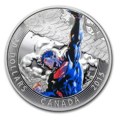 2015 1 OZ CANADA ICONIC SUPERMAN COMIC BOOK COVERS: SUPERMAN UNCHAINED. #high #inflation #silver #bullion #coins