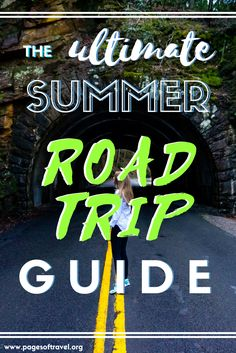 Face the facts, packing can be a pain! This guide to summer road trip essentials will help you pick choose what to take on your next epic adventure.