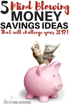 If 2017 is our year to save and you are looking for a challenge we got you covered. Check out these 5 money saving ideas to help you reach your saving goals
