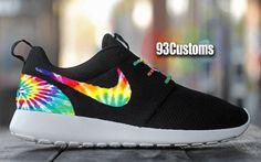 Nike Roshe Run Custom Tie Dye