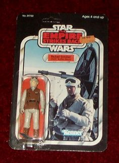 Kenner Empire Strikes Back Action Figure - Hoth Rebel Soldier Hoth Battle Gear