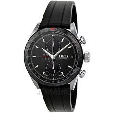 63d9f896424f Oris Artix GT Chronograph Automatic Black Dial Stainless Steel Mens Watch  674-7661-4434RS