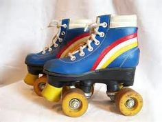 Very groovy children's roller skates that are in very good condition! These skates are a size 11 long), the wheels roll like butter and the stoppers are in great shape! Retro Roller Skates, Kids Roller Skates, Roller Disco, Roller Derby, Roller Skating, Sneaker Art, Vintage Children, Bikini Girls, Retro Fashion