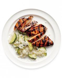 Teriyaki Chicken with Rice Salad