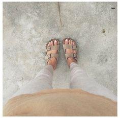 how to wear birkenstocks for summer 2014 - {reminds me of high school} @Odette Plavinskas Plavinskas Plavinskas Plavinskas New York