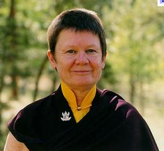 """Beyond our comfort zone ~ Pema Chödron http://justdharma.com/s/ax43m  Compassion is threatening to the ego. We might think of it as something warm and soothing, but actually it's very raw. When we set out to support other beings, when we go so far as to stand in their shoes, when we aspire to never close down to anyone, we quickly find ourselves in the uncomfortable territory of """"life not on my terms."""" The second commitment, traditionally known as the Bodhisattva Vow, or warrior vow…"""