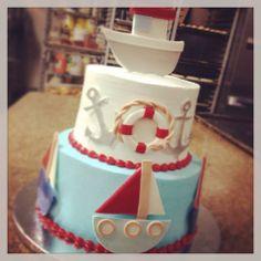 Ahoy! Baby Shower Cakes by Conti's Bronx NY