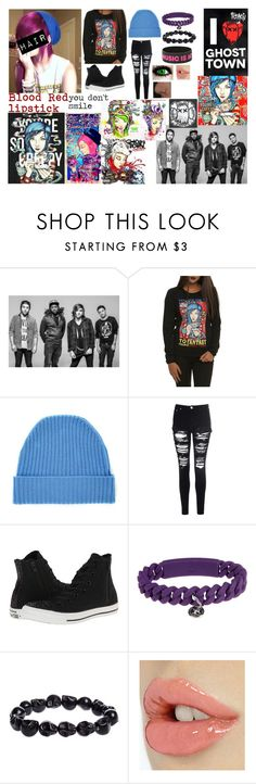 """""""You're So Creepy"""" by band-obsessed-forever ❤ liked on Polyvore featuring Orwell + Austen, Glamorous, Converse and Marc by Marc Jacobs"""