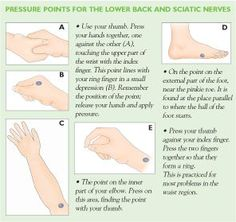Pressure Points for the Lower Back and Sciatic Nerves