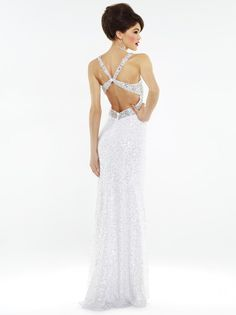 Gorgeous Back from Riva Designs for #prom2014 #prom #dresses #formalapproach