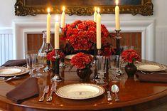 Idéias lindas e do maior bom gosto para nós todas, que gostamos de uma mesa arrumada!  Vamos ver as mesas sensacionais de Carolyne Roehm, dona de extremo bom gosto e criatividade, e autora de vários livros sobre flores e mesas!    AC